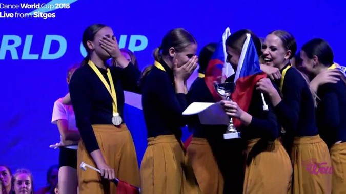 Mirákl uspěl na Dance World Cupu